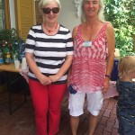 Gerti Brandner mit Verena Ertl